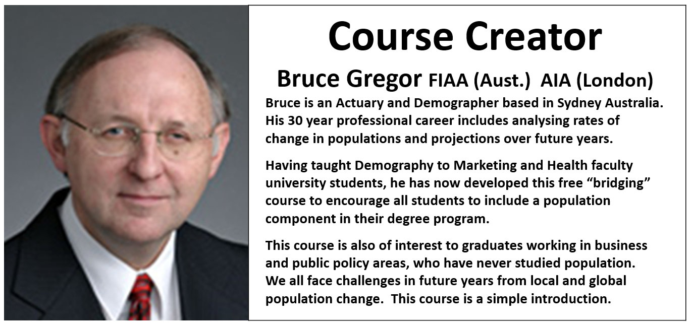 Demography Course Creator